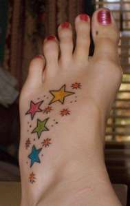example of star tatoos