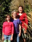 Me with my beautiful girls on their 11th birthday